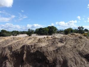 Aterro realizado para o empreendimento Bosques de Atlântida