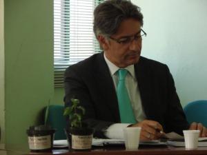 Sr Secretário Berfran Rosado recebeu da ONG MIRA-SERRA mudas de Pitanga e Butiá em prol da criação das Unidades de Conservação em São Francisco de Paula e Tapes