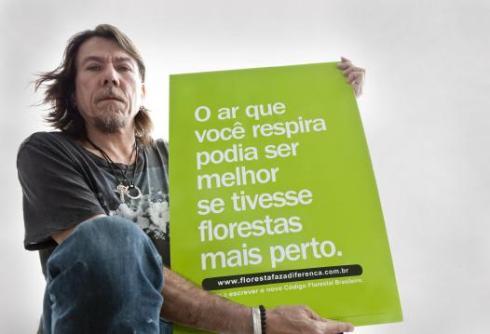 Lenine defende o atual Código Florestal. Foto: Renata Duarte
